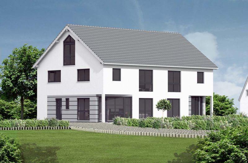 doppelhaus kaufen massive wohnbau. Black Bedroom Furniture Sets. Home Design Ideas