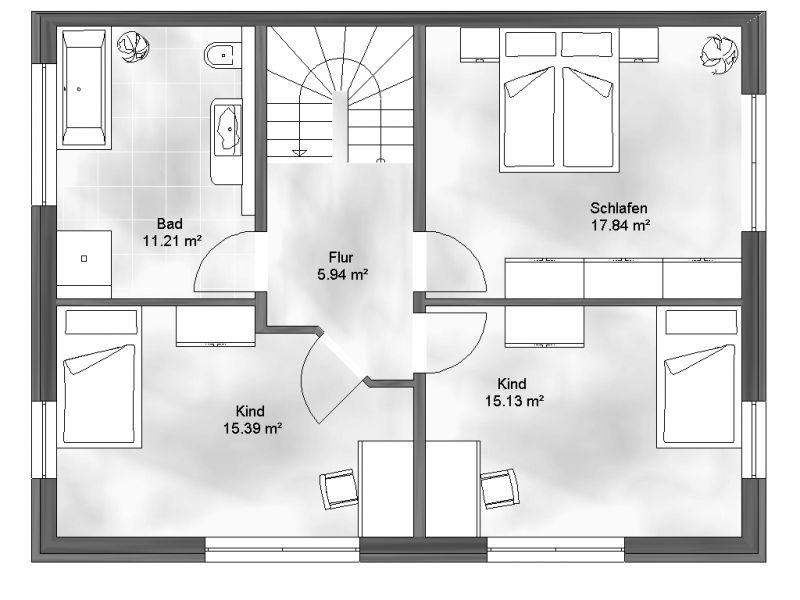 doppelhaus 1. Black Bedroom Furniture Sets. Home Design Ideas