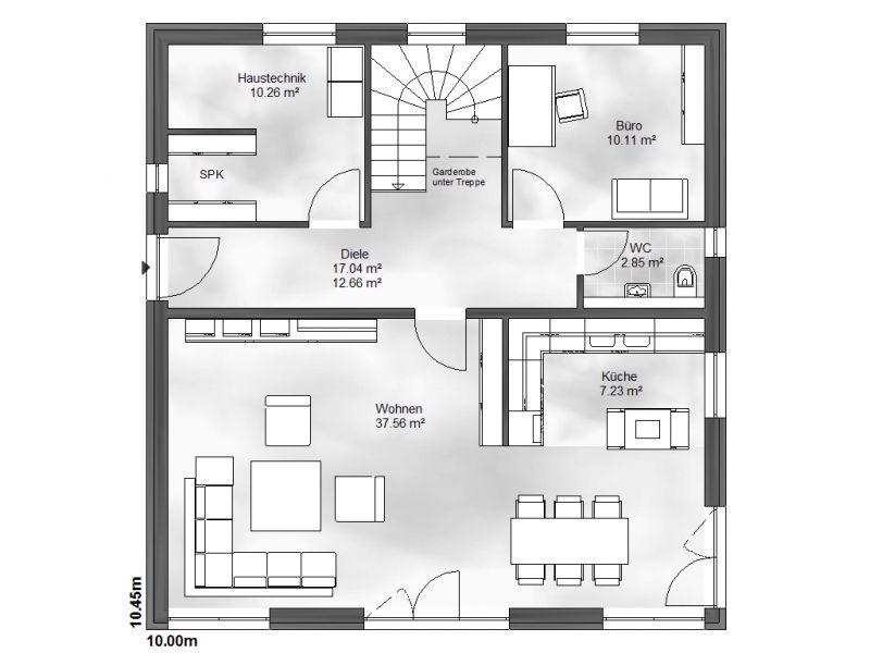 einfamilienhaus nina. Black Bedroom Furniture Sets. Home Design Ideas