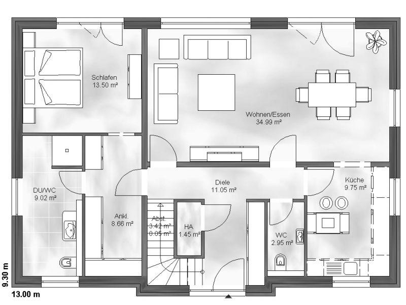 einfamilienhaus finn. Black Bedroom Furniture Sets. Home Design Ideas