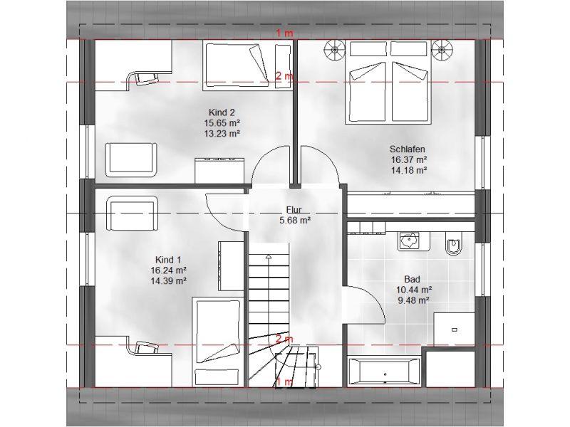 einfamilienhaus helena. Black Bedroom Furniture Sets. Home Design Ideas