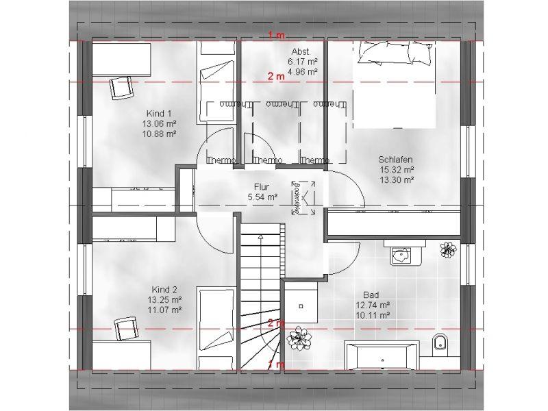 einfamilienhaus merle. Black Bedroom Furniture Sets. Home Design Ideas