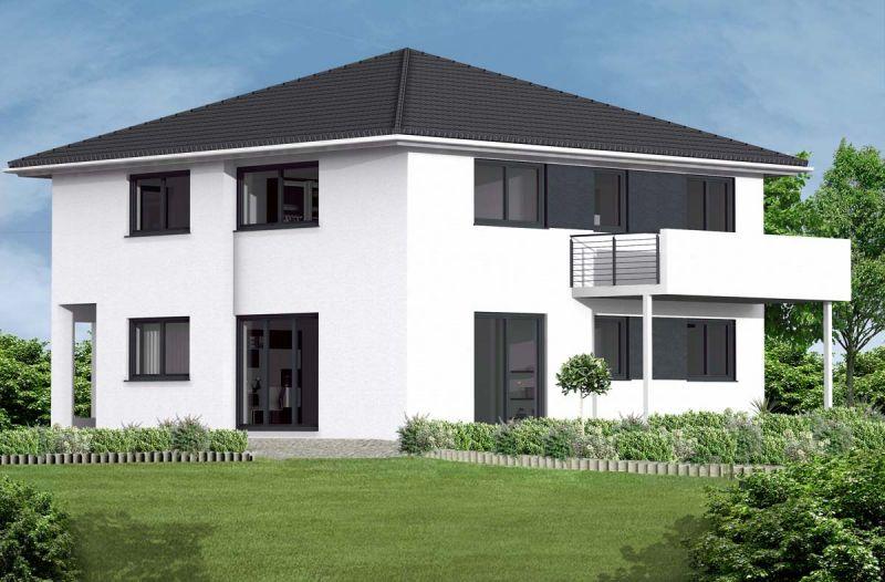Stadtvilla modern  Stadtvilla bauen - Schlüsselfertig und Massiv