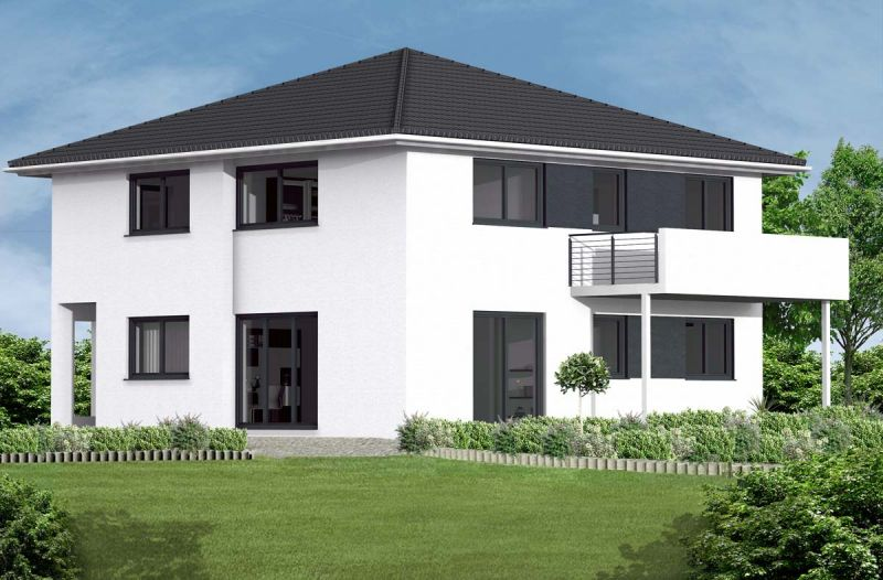 Stadtvilla modern innen  Stadtvilla bauen - Schlüsselfertig und Massiv