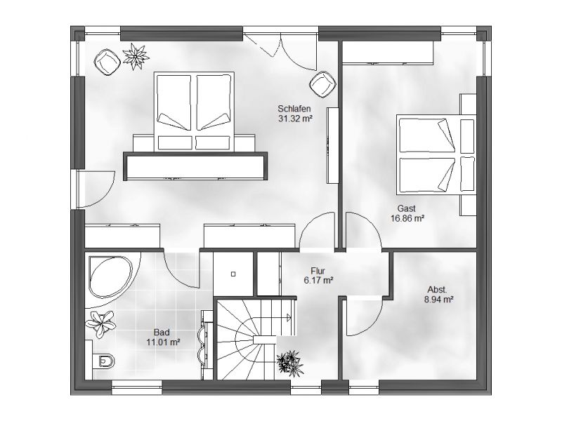 stadtvilla 6. Black Bedroom Furniture Sets. Home Design Ideas
